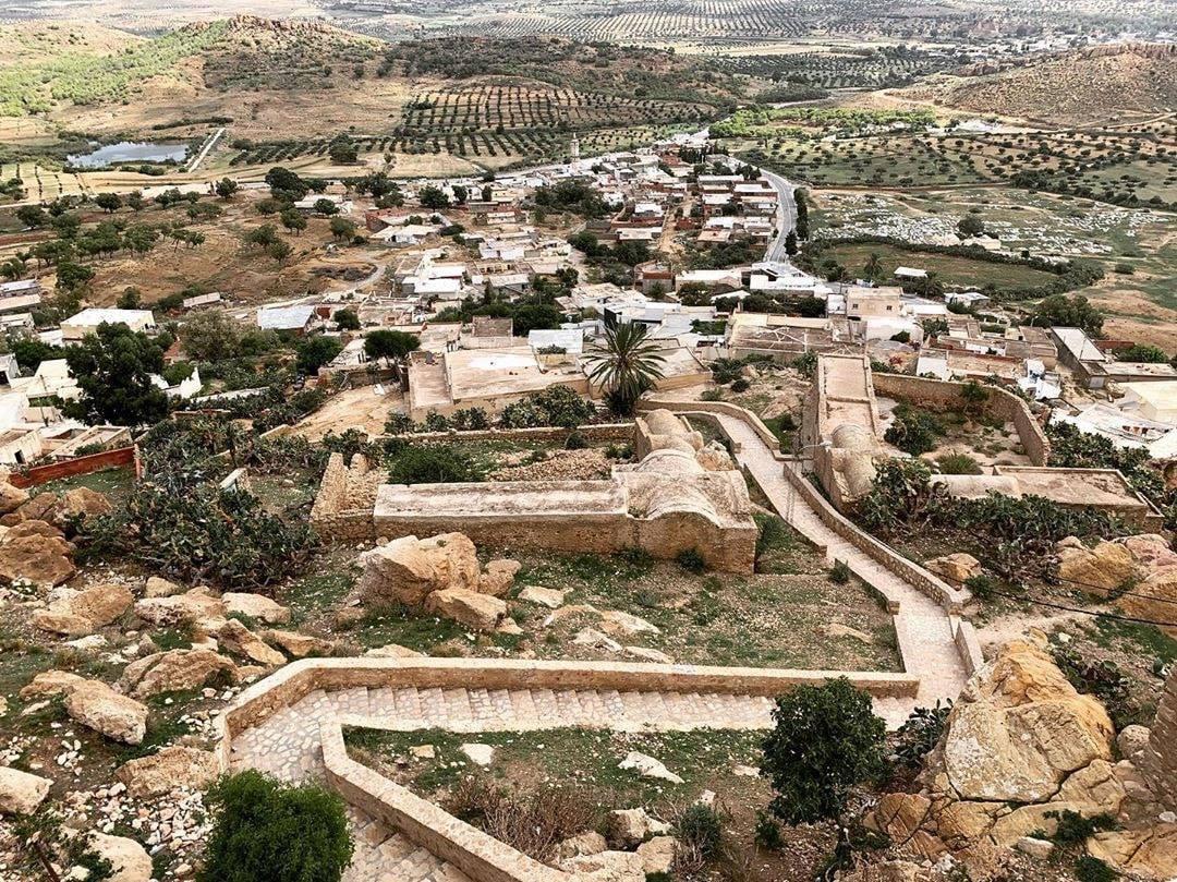 🏞 Excursion 3 en 1   ↪ Temple des eaux Zaghouan ↪ Village berbère Zriba Olia ↪ Village berbère Takrouna   📅 Date: 10/11/2019